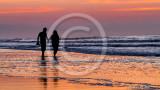 A Romantic Walk On The Beach