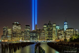 9/11 Memorial Lights - View From Brooklyn (57451)