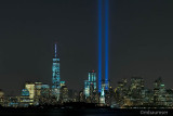 9/11 Memorial Lights - View From Bayonne (78599)