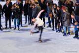 Skater at Rockefeller Center