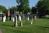 Fort Loramie Legion at St. Michael's Cemetery, Memorial Day 2013
