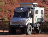 UNIMOG at Monument Valley