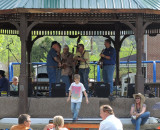 A local band playing at Hillbilly Days in Pikeville, Kentucky