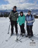 Colorado Ski trip with Ellie 02-2015