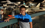 Camden at the U.S. Air Force Museum (nice way to spend Father's Day)