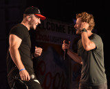 Sam Hunt and Brantly Gilbert