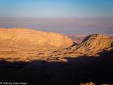 Devils Gate at the Makhtesh Hakatan (the small crater)
