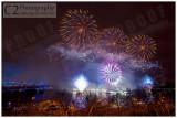London Eye Fireworks - New Year 2012-13