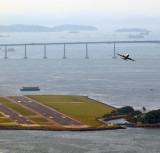 Taking Off from Rio Runway