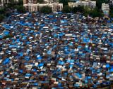 Mumbai Airport Slum