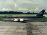 B747-200  JY-AFA