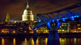St Pauls and Millennium Bridge