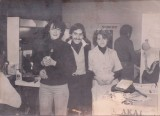 Sue Egans photo with Terry and Lucrettia at the Davies Mews school .