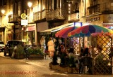 July 13th - Relaxing at night in Aubusson