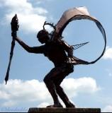 July 17th - St Julien - sculptor Hal Wilson