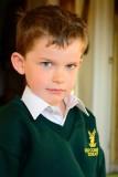 Grandson Dylan - starting school.