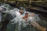 Laughing in the whirlpool