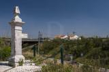 Marco de cruzamento na EN 3, desvio para a povoação de Obras Novas (Imóvel de Interesse Público)