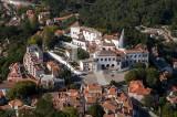 A Vila de Sintra Vista do Castelo