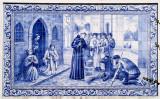 Santo António e o milagre eucarístico de Rimini, também chamado «milagre da mula».
