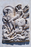 Apolo cavalgando Pégaso preside ao Conselho das Musas por Leopoldo de Almeida (1957)