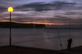 A Lagoa de Óbidos em 29 de outubro de 2013