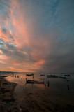 A Lagoa de Óbidos em 18 de dezembro de 2013