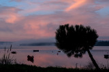 A Lagoa de Óbidos em 21 de dezembro de 2013