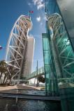 A Torre Vasco da Gama e o Hotel Myriad