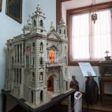 Maqueta de uma Virtual Igreja de São Bento, em Louriçal do Campo