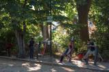O Parque D. Carlos em 5 de setembro de 2014