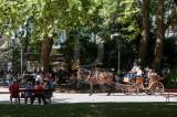 O Parque D. Carlos em 7 de setembro de 2014
