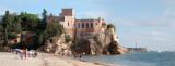 A Praia Grande e o Castelo