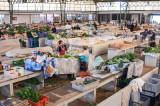 O mercado da Nazaré em 20 de fevereiro de 2008