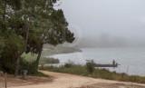 A Lagoa de Óbidos em 17 de julho de 2015
