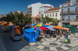 A Praça da Fruta em 8 de agosto de 2015