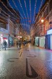 A Rua das Montras no Natal