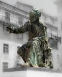 O Poeta Chiado, por Costa Motta e José Alexandre Soares (base)