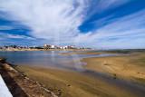 A Ria Formosa Junto à Praia de Faro