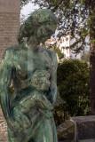 Esculturas de Anjos Texeira em Exposição na Vila