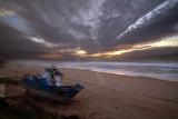 Luz do Sameiro na Praia da Légua