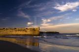 O Forte de Peniche Junto à Praia da Gamboa