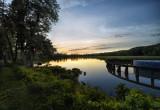 Wildwood Park at sunset