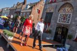 Modeshow op de Voorstraat