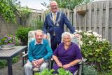 60 Jarig Huwelijk echtpaar Jansen-Schroot