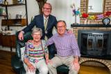 60 Jr Huwelijksfeest Echtpaar Matton-Pardoel