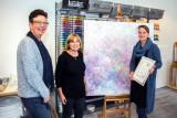 Bij Dirks'Artist Supplies wint etalagewedstrijd Open Atelier Route