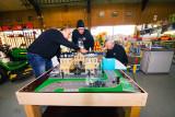 Opbouw uniek Frans LEGO-kasteel