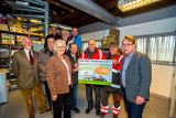 Voedselbank onvangt 1000 Euro Cheque
