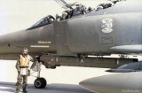 1984 - future Coastie Chet Gay serving as an Air Force F-4E Phantom crew chief in the 69th Tactical Fighter Squadron Dragons